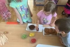 Výroba sušenkových semaforů