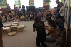 Zábavné bubnování s rodiči